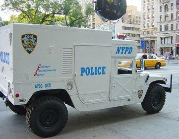 NYPD ESU Soundweapon