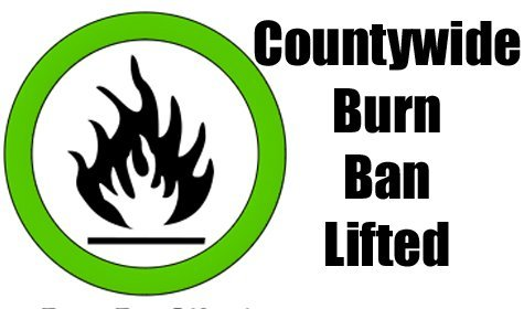 Austin County Burn Ban Lifted
