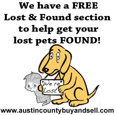 Lost and Found Section Ad