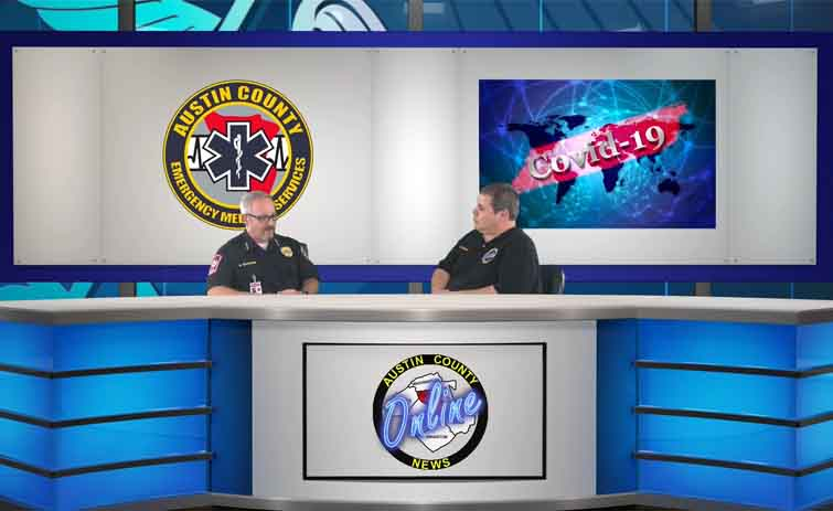 An Update From Austin County EMS Director on the Coronavirus (COVID-19) [VIDEO]