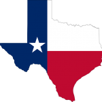 Texas State and Flag