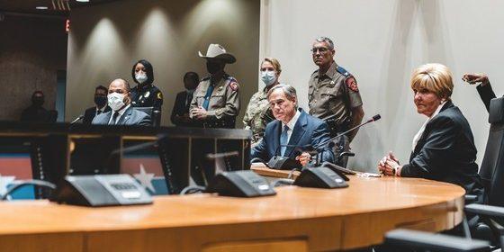 Gov Abbott Dallas