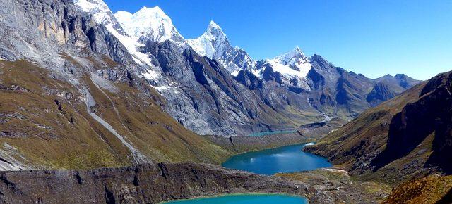 glacial lake Peru