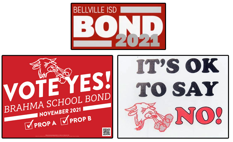 Two Sides Develop In Preparation For Bellville ISD Bond Election