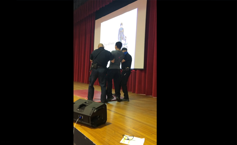 """Bellville Police Department Teach """"Use Of Force"""" To Bellville ISD Students [VIDEO]"""