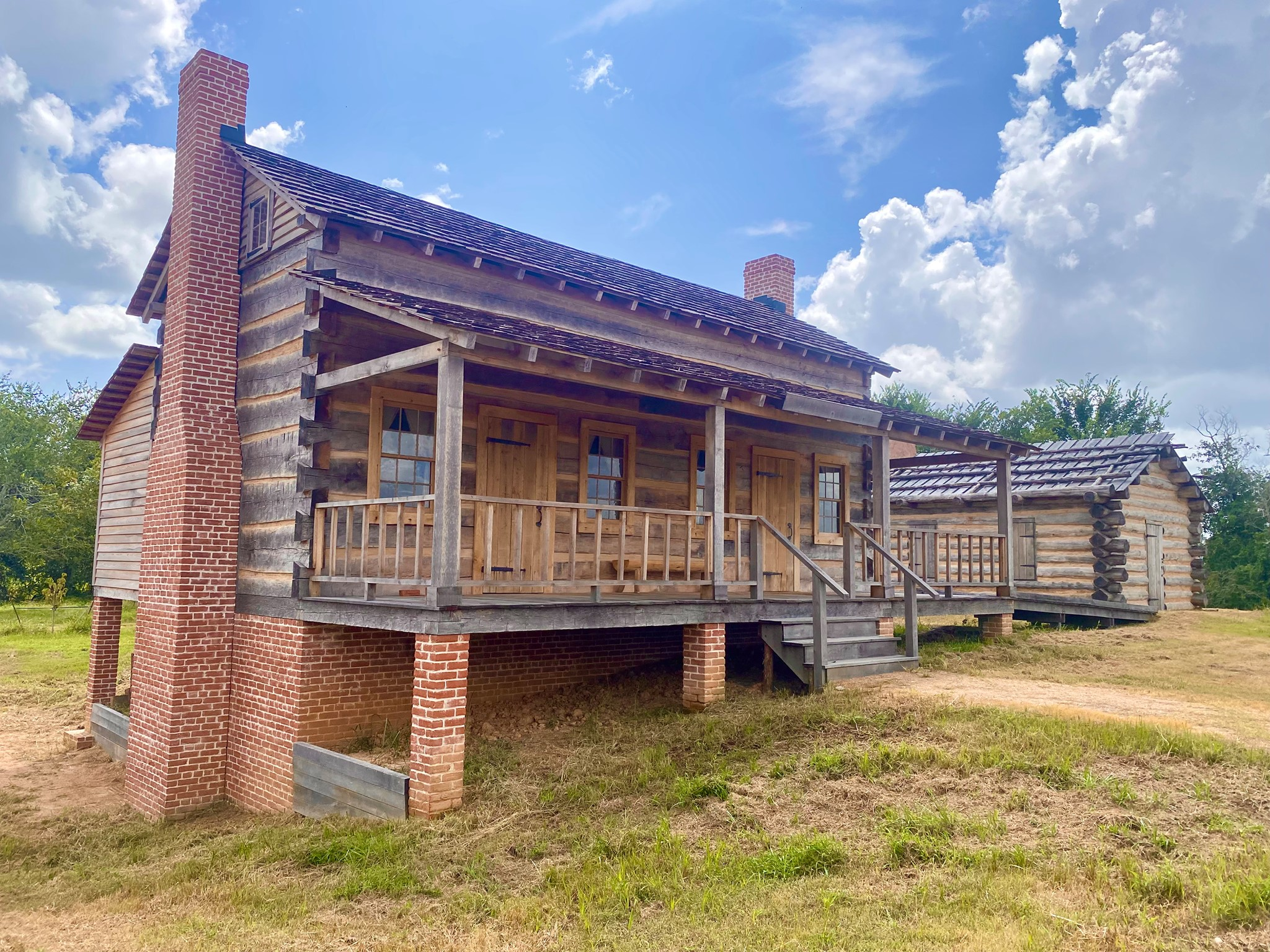 San Felipe De Austin State Historic Site Prepares To Open New Outdoor Exhibit:  Villa de Austin