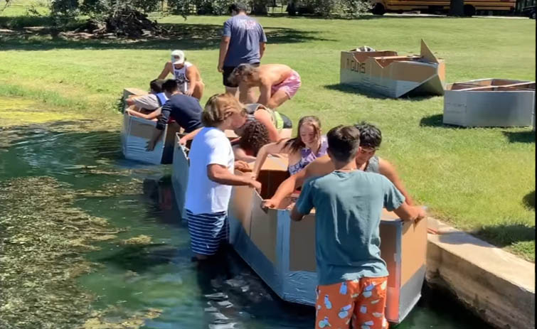 Sealy High School PLTW Boat Races Show Ingenuity/Inventiveness [VIDEO]